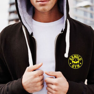 Men's Fitness Workout Hoodies-Arnold Gym Gear