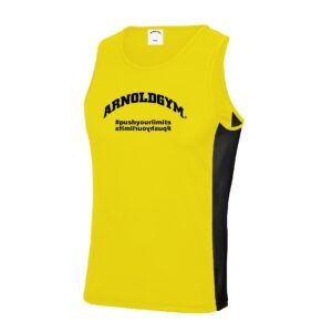 Athletic Workout Tank Tops-Arnold Gym