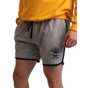 mens-retro-bodybuilding-fitness-training-grey-muscle-short-arnold gym