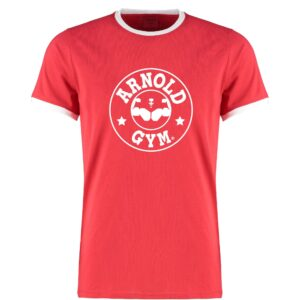 Retro Bodybuilding Workout Training Red T-Shirt