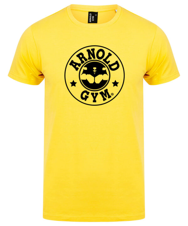 old-school-training-gym-iconic-t-shirt-Arnold Gym