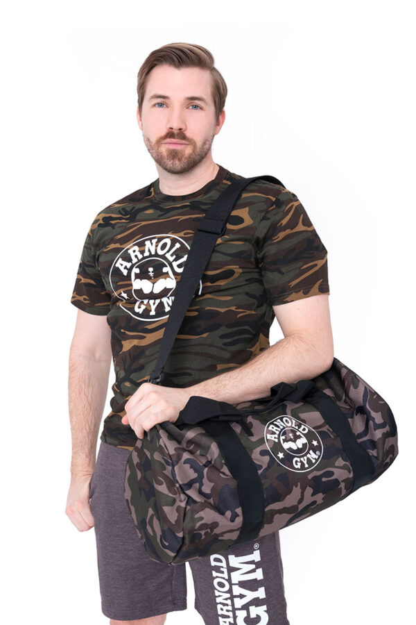 Arnold-Gym-Military-Camouflage-Training-T-Shirt-bag