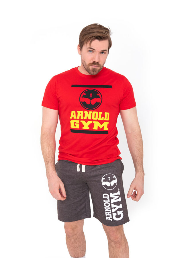 Arnold-Gym-Victory-Workout-Sports-Charcoal-Short-Design