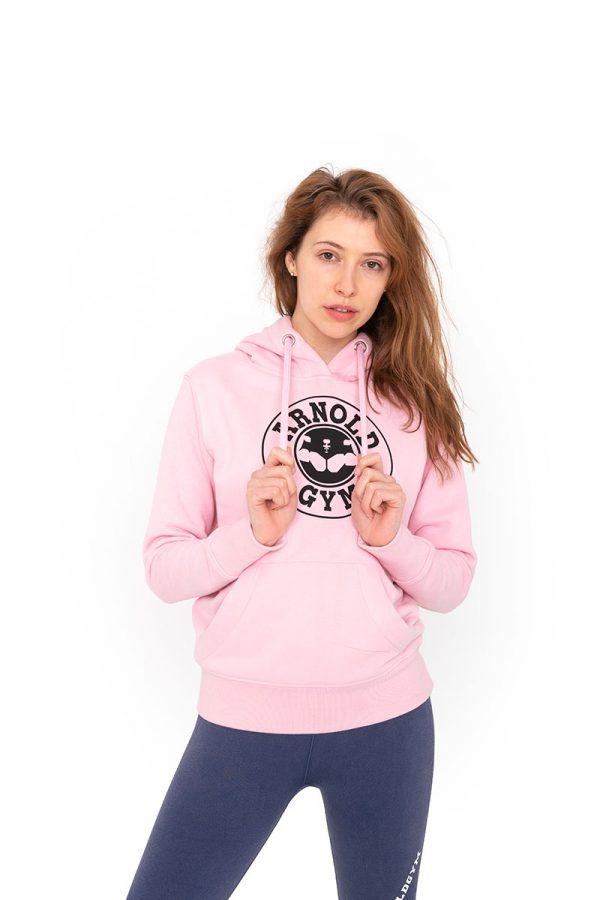 arnold-gym-pink-organic-fitness-hoodie
