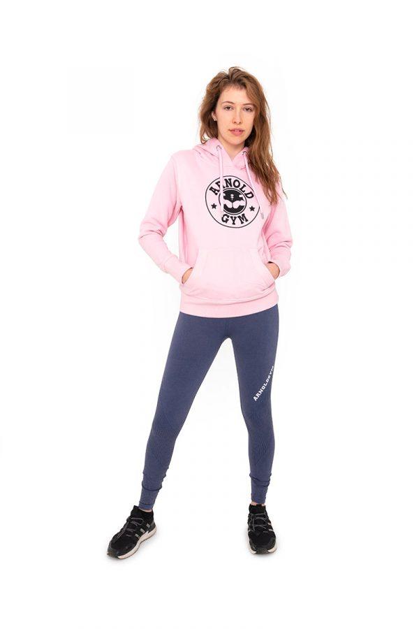 arnold-gym-women-organic-pink-hoodie