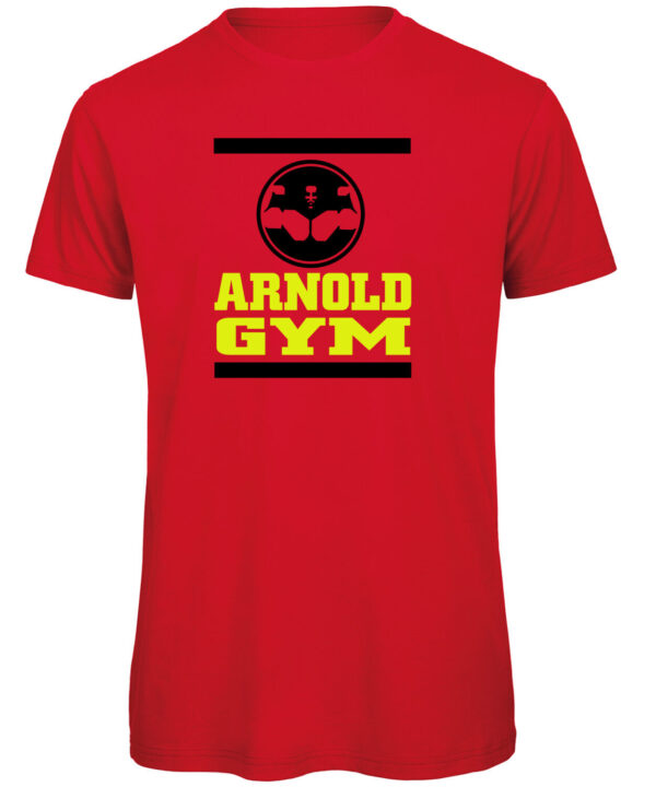 Arnold-Gym-Hercules-organic-red-fitness-t-shirt-HRMT