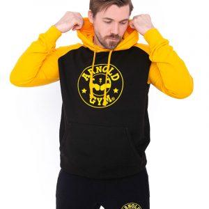 Arnold-Gym-Elite-Fitness-Contrast Hoodie.jpg