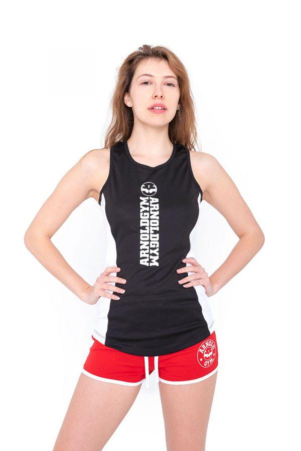 Arnold Gym women's Training Fitness Tank Black