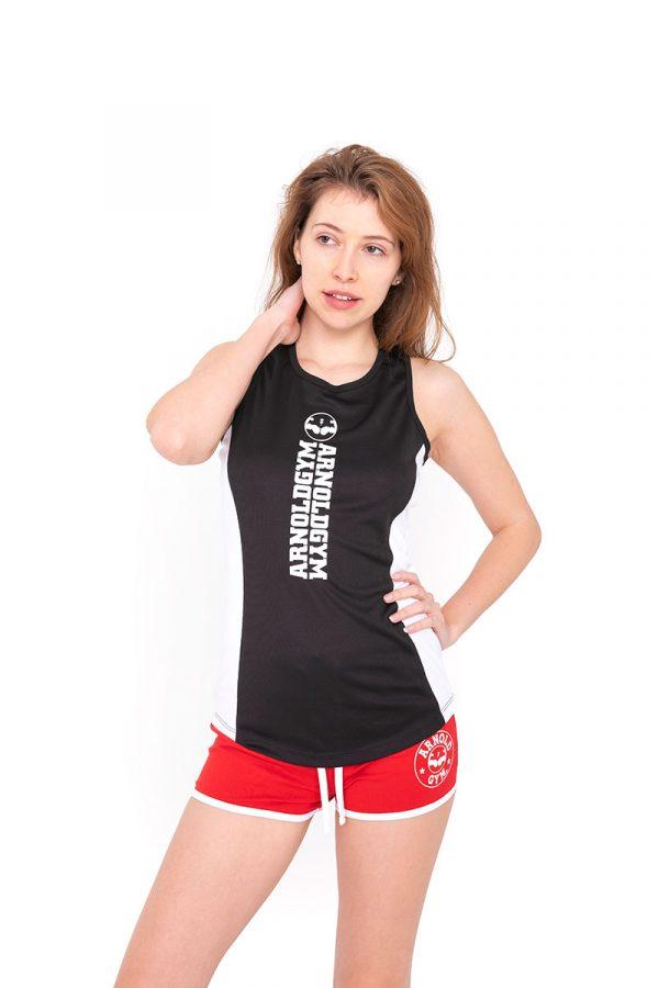 Arnold-gym-women-training-gym-tank-black.