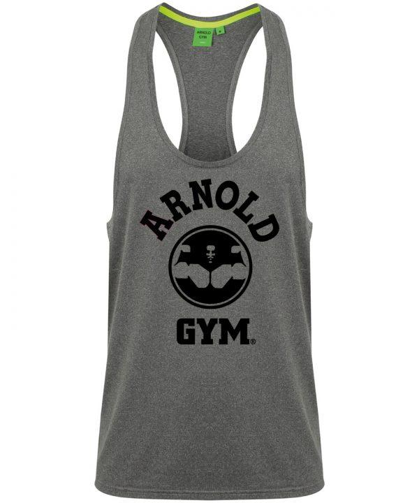 Arnold-Gym-Legend-Workout-Stringer-Vest-Grey