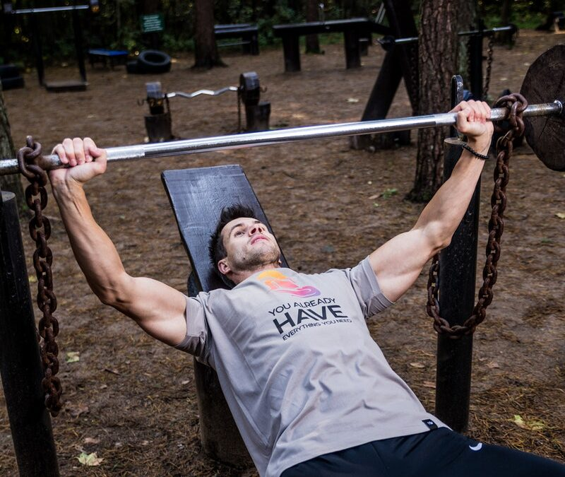 Workout t-shirt -grey- by Arnold Gym Wear