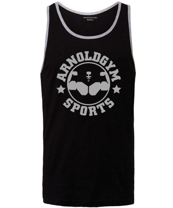 Gym stringer sports vest-Gym vest-Arnold Gym-