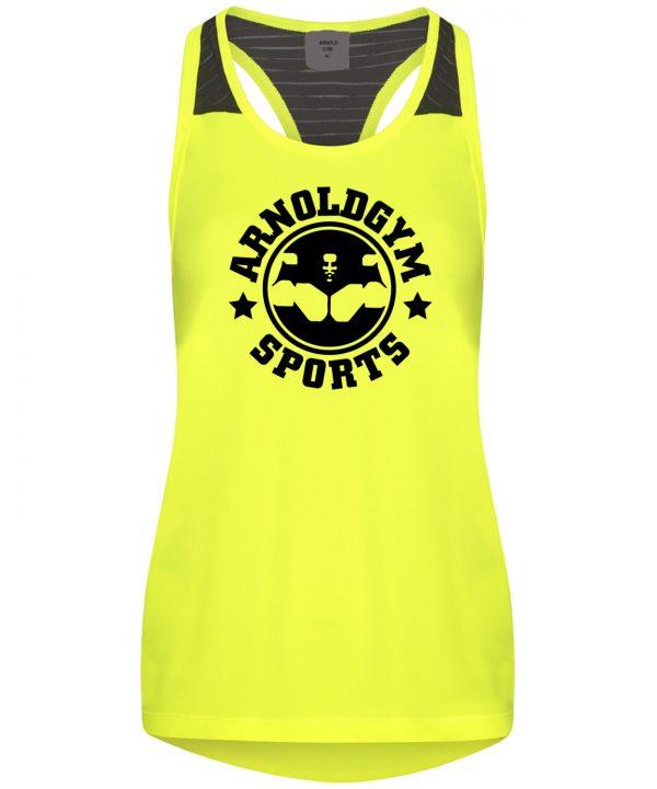 women-gym-vest-yank-arnold-gym-wear-yellow-tank