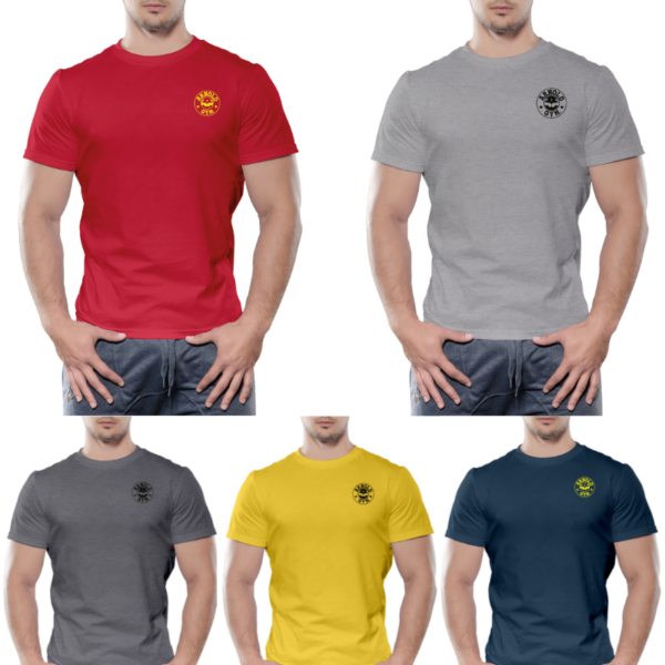 Arnold's Essential Gym Workout Basic T-shirts