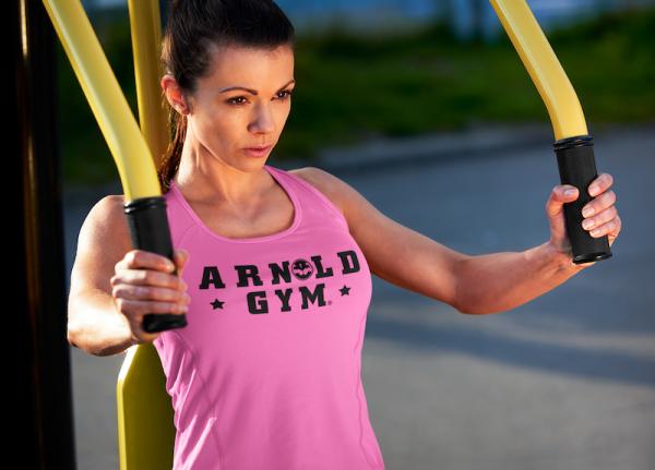 workout gym vest-pink